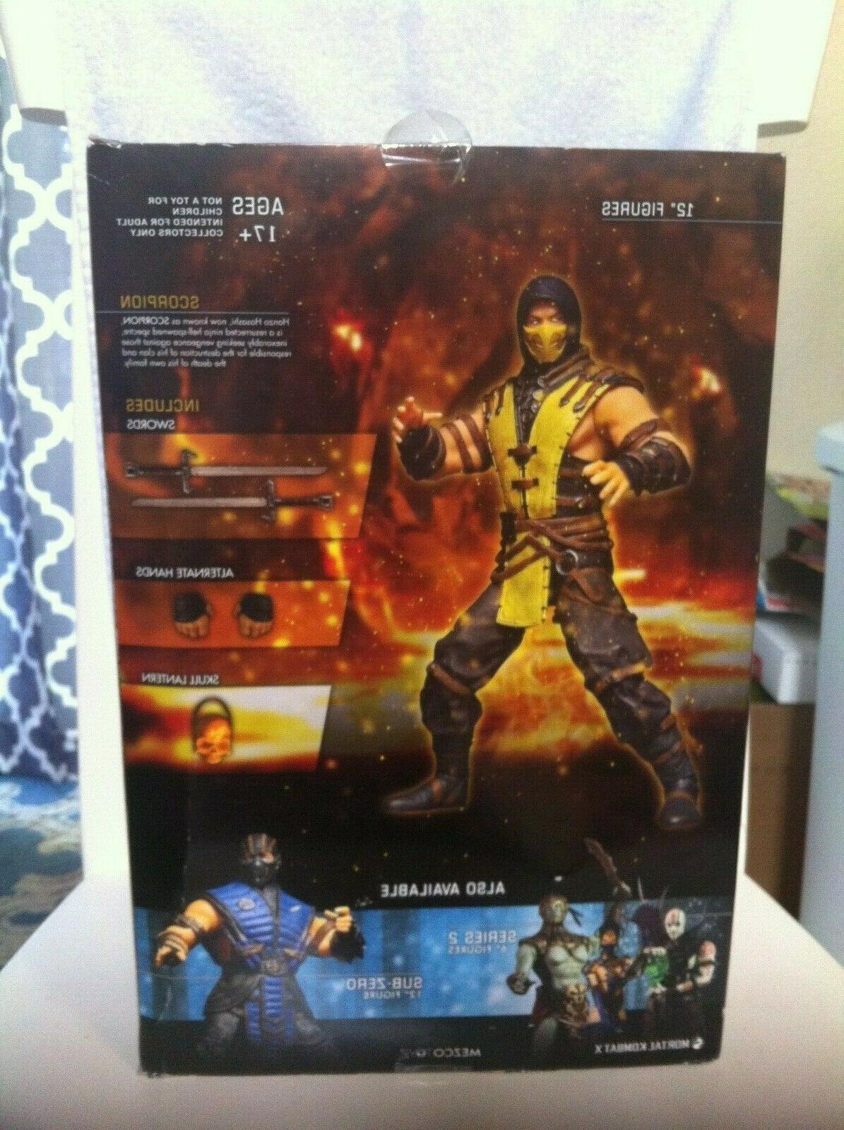 Mortal Kombat X SCORPION 12 inch Action Figure Toyz