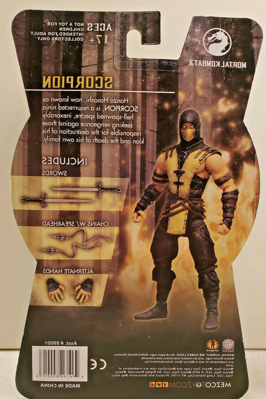 Mezco, Scorpion Action