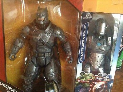 DC Comics MULTIVERSE ARMORED Batman & Marvel's War Machine 1
