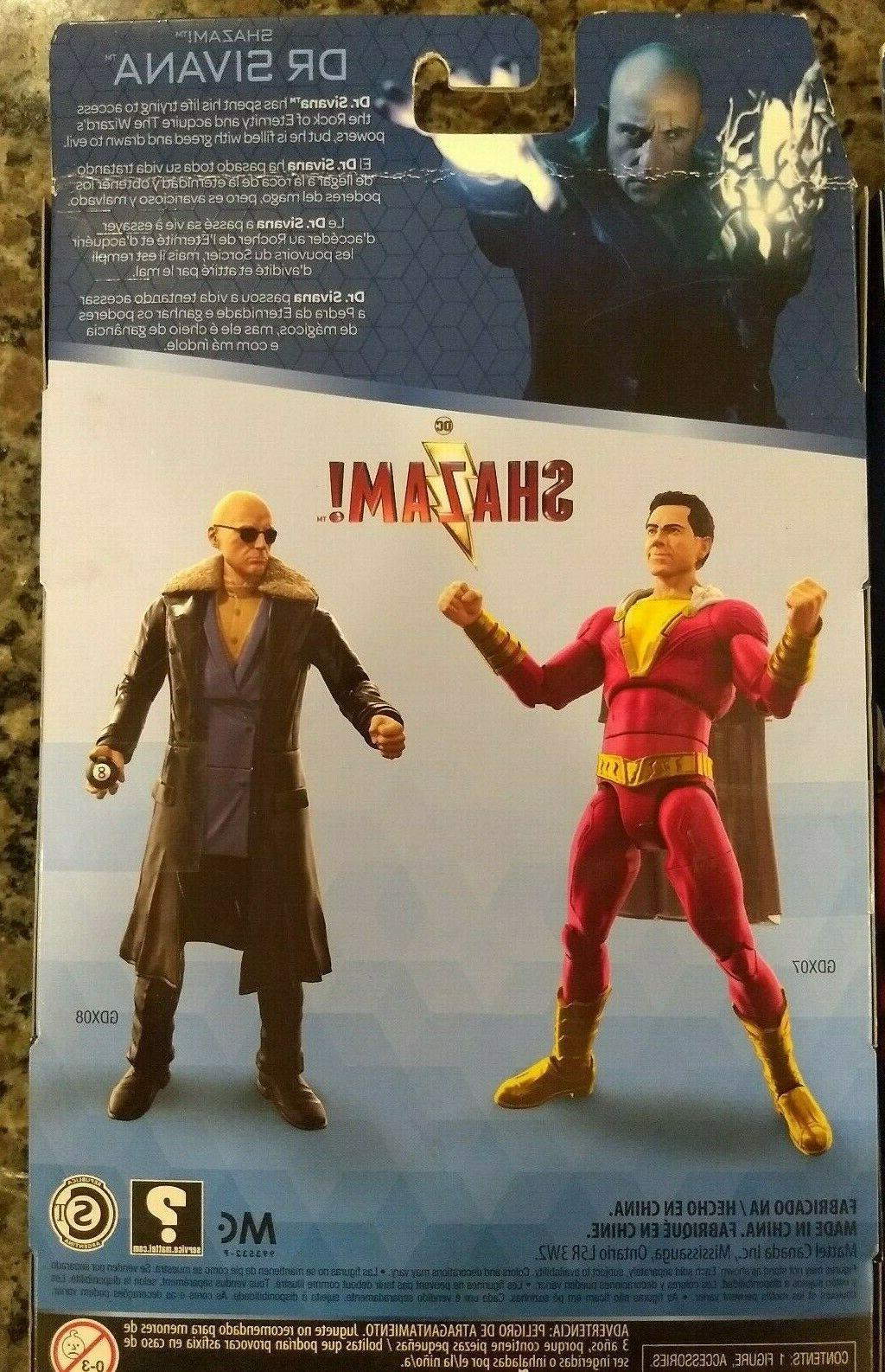 DC Shazam! and Sivana 6-inch Action Figure