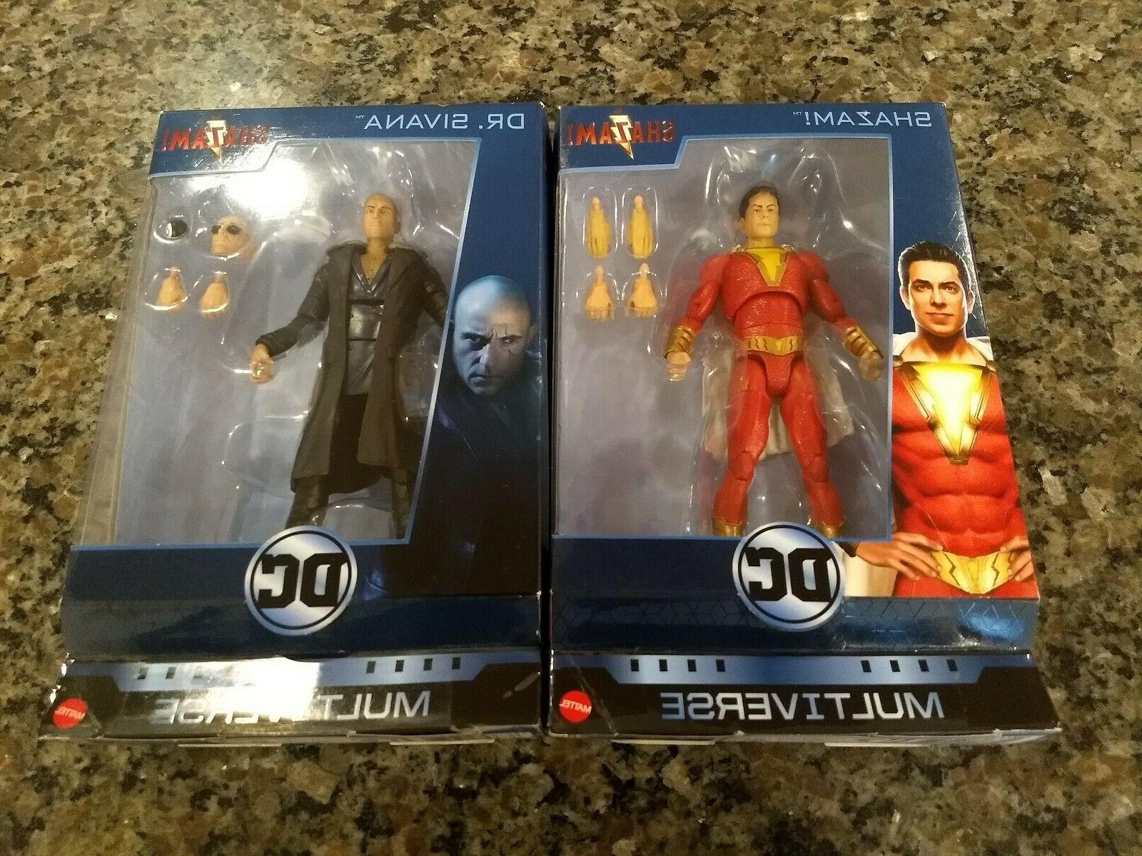 multiverse shazam and dr sivana 6 inch