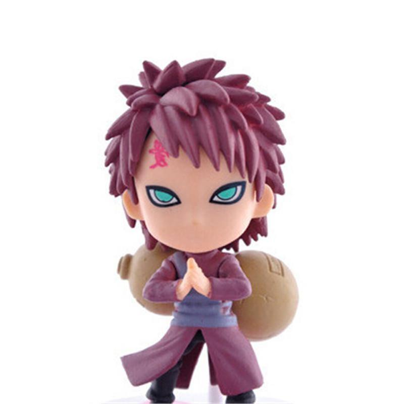 Naruto <font><b>Figure</b></font> 12 Q style Zabuza Naruto PVC Doll Kids 1PCS/lot