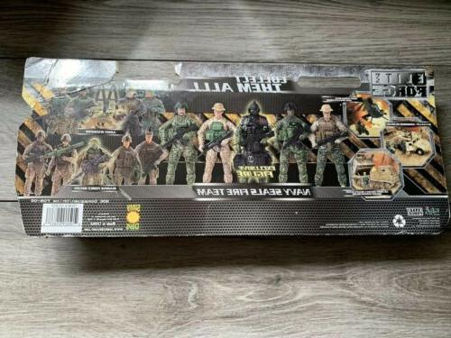 ELITE FORCE SEALS FIRE GI Action Figure Set Of 5 In Box