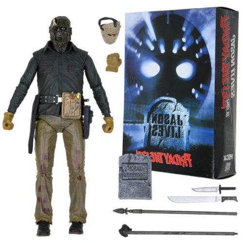 """NECA Friday the 13th Jason 7"""" Ultimate Figure 1:12 Scale"""