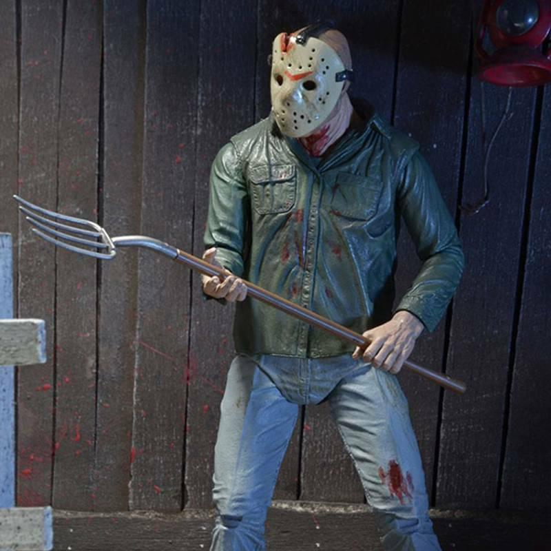 "NECA the Part Jason Voorhees Ultimate 7"" Action Figure Toys"
