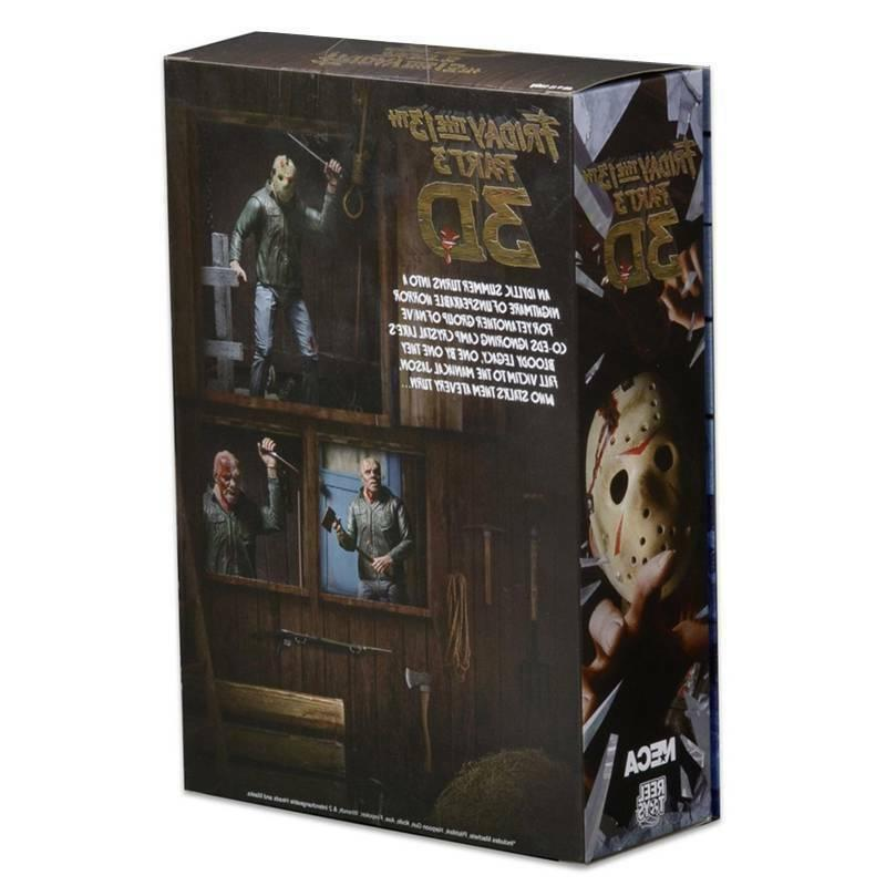 NECA Part 3D Voorhees Ultimate Figure