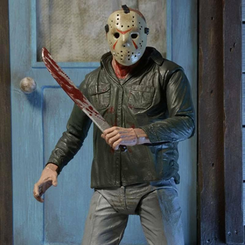 NECA Part III 3D Voorhees Ultimate Figure