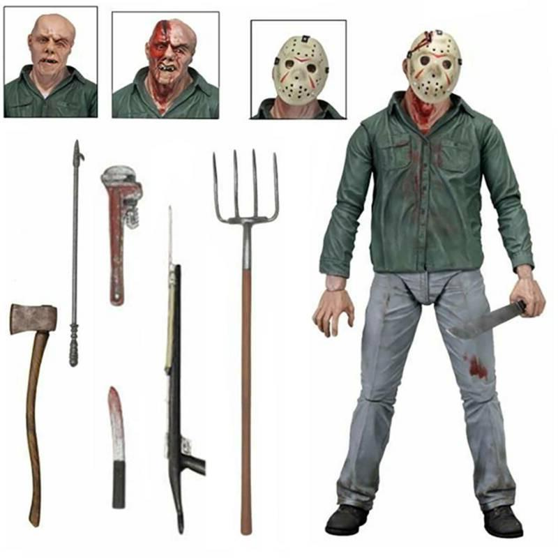 NECA Friday Part III 3D Jason Voorhees Action Figure