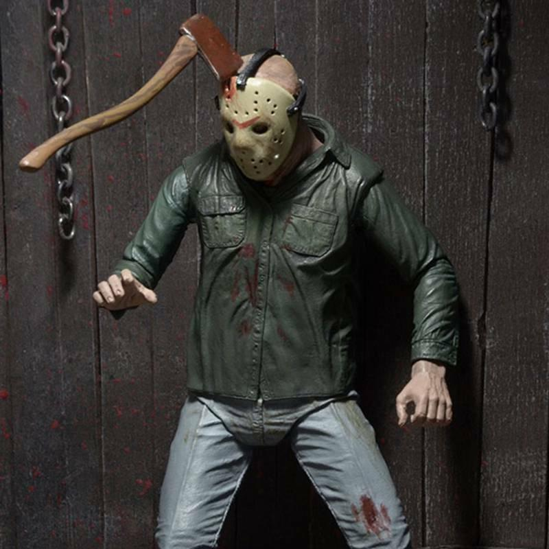 "NECA Friday the Part III 3D Voorhees Ultimate 7"" Action Figure Toys"