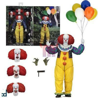 neca it pennywise clown ultimate action figure