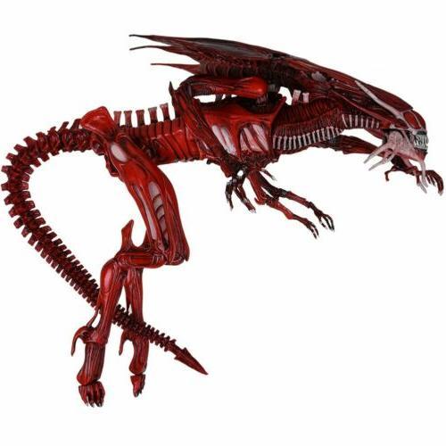 NECA Xenomorph Red Queen Figure Toys USA