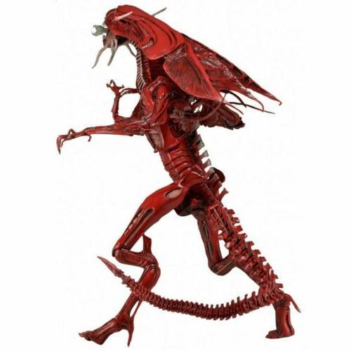 NECA Xenomorph Red Alien Queen Deluxe Figure Toys USA