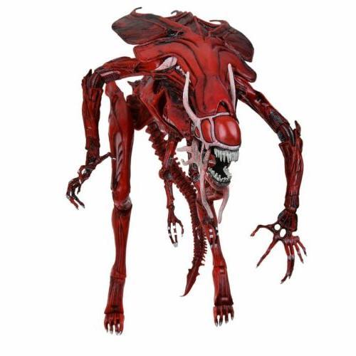 NECA Xenomorph Red Alien Queen Figure Toys USA