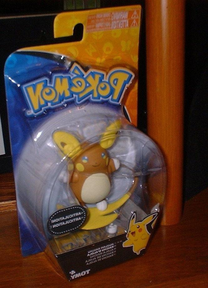 NEW & SEALED Pokemon Articulated Figure RAICHU 4+