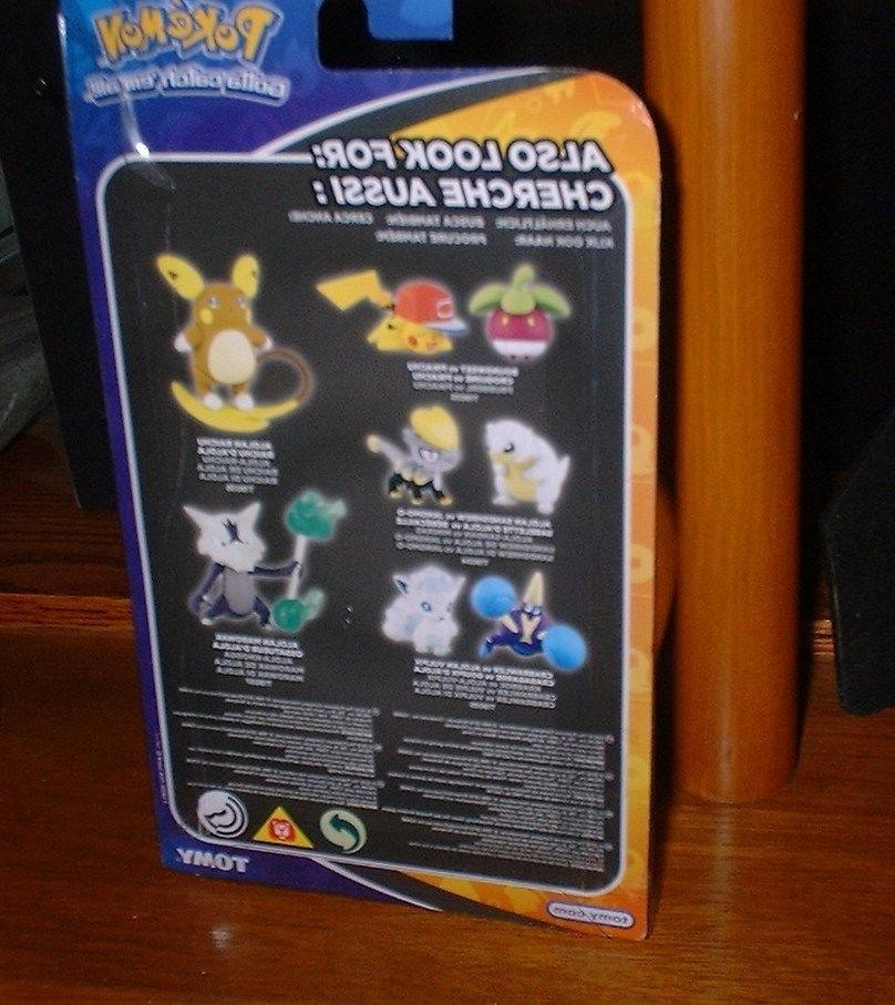 NEW Pokemon Articulated Figure ALOLAN 4+