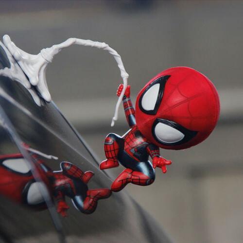 New Spiderman Bobble Head Car Accessories Spider-Man