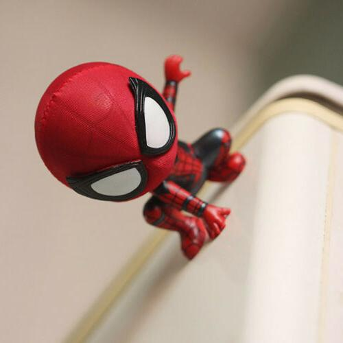 New Cute Head Figure Accessories Spider-Man