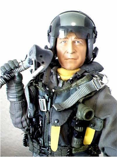 NEW! Blue Box Elite Force George Bush Naval Aviator Ltd Ed 1