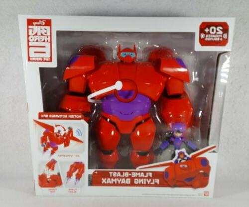 new flame blast flying baymax 10 figure