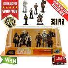 New Han Solo Star Wars Movie 6 Pc Disney Store Figure Qi'r