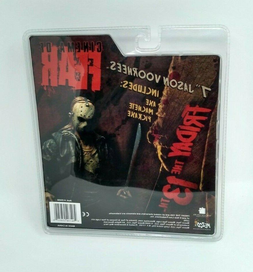 NEW BOX JASON of Fear Friday 13th
