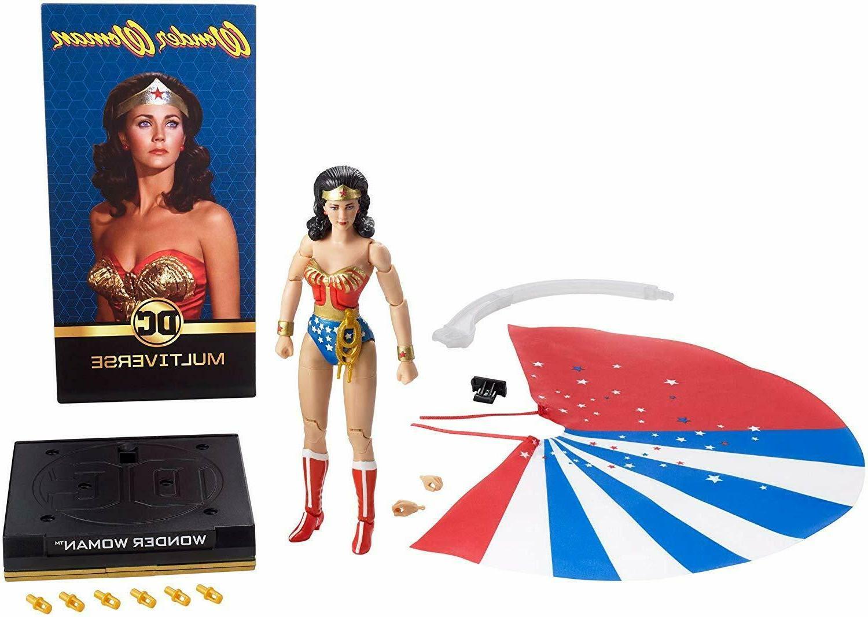 NEW Lynda Woman DC Multiverse Mattel