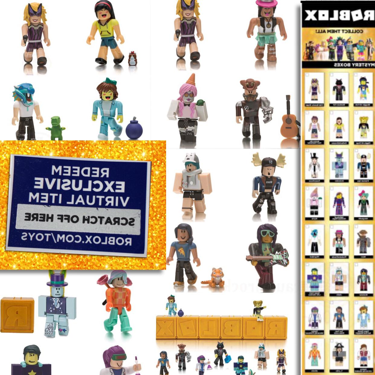 NEW Roblox Celebrity Gold Series 1 2 3 Mystery Box Action Fi