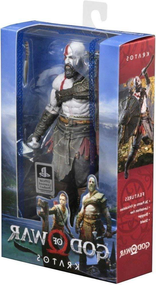 "NECA God of War  7"" Scale Action Figure, 7"", Multi-Colored"