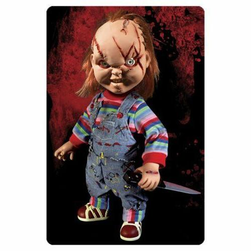 "New! Scarred Chucky Mega 15"" Good Child Play"