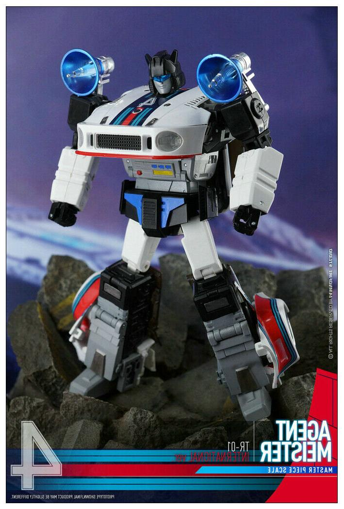New Transformers Toys TR-01 Jazz G1 MP Scale action figure toy