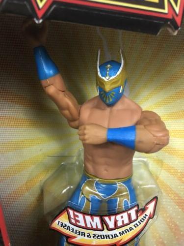 "New WWE Flexforce Sin Cara Throwin' 7"" Figure"
