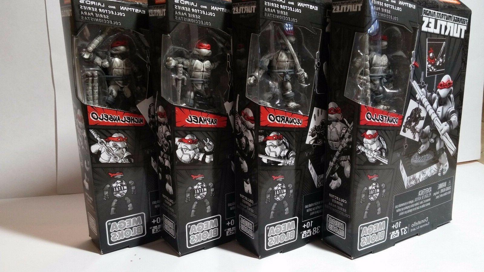 Mega Bloks Ninja Turtles Eastman & Laird's Collector Series