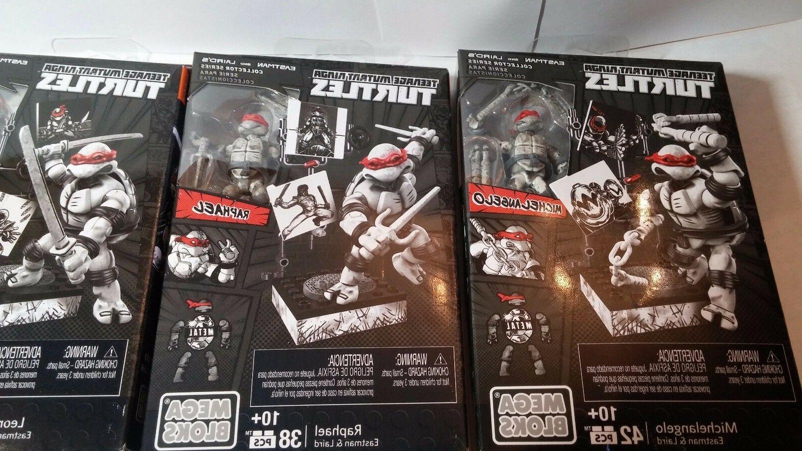 Mega Bloks Ninja Eastman & Series Set Of - Free
