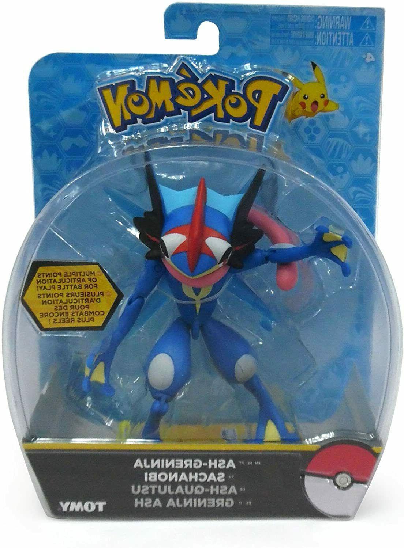 nintendo pokemon ash greninja action figure new