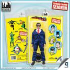 Official DC Comics Clark Kent 8 inch Action Figure on Mego S