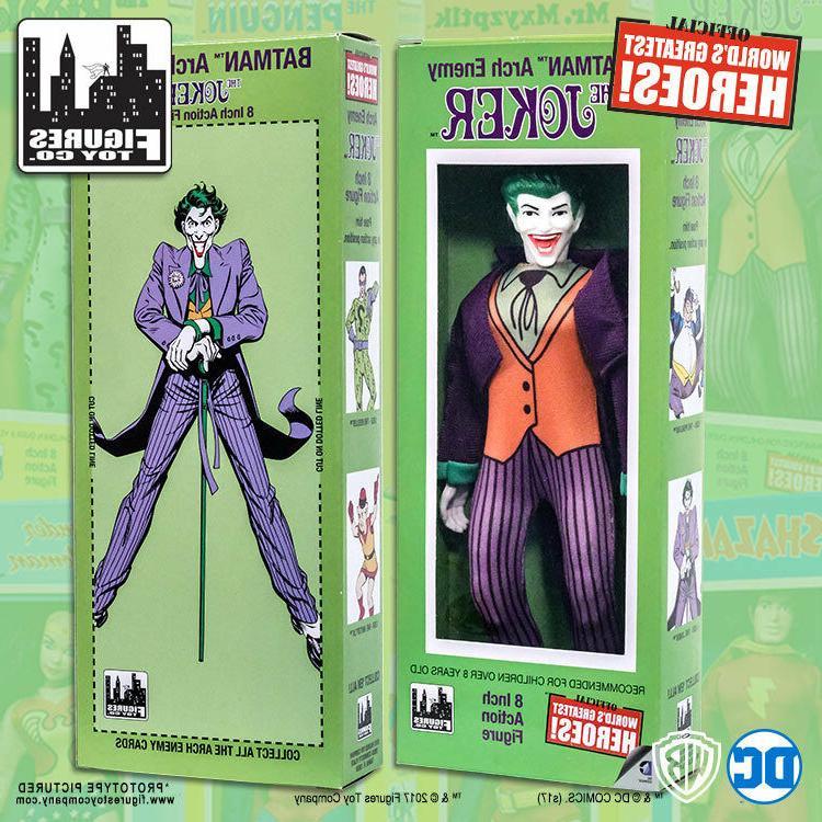 official dc comics the joker 8 inch