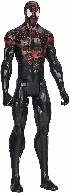 Official Spiderman Black Suite Titan Figure Gift