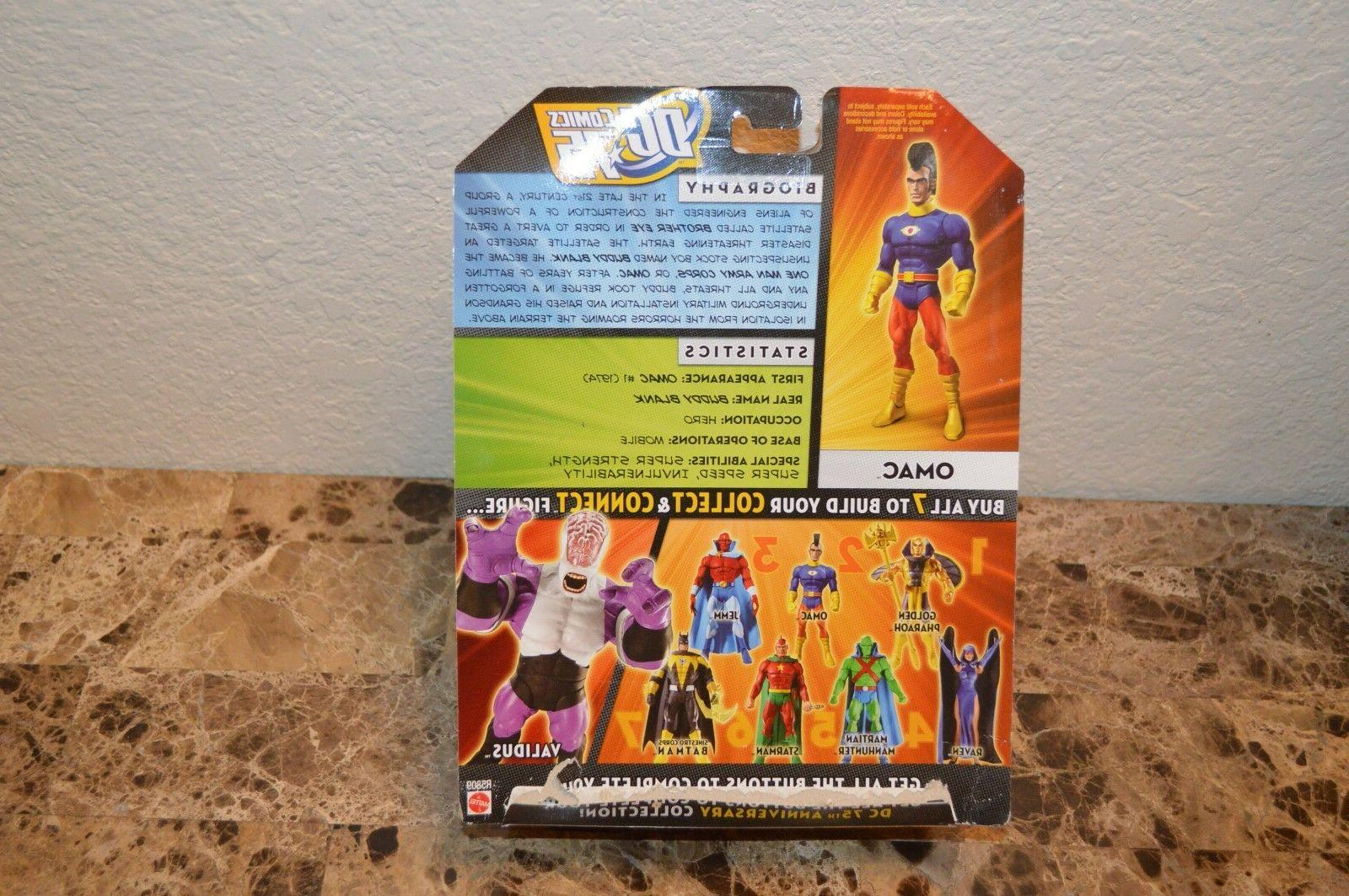 OMAC INCH ACTION UNIVERSE MATTEL 75 Years