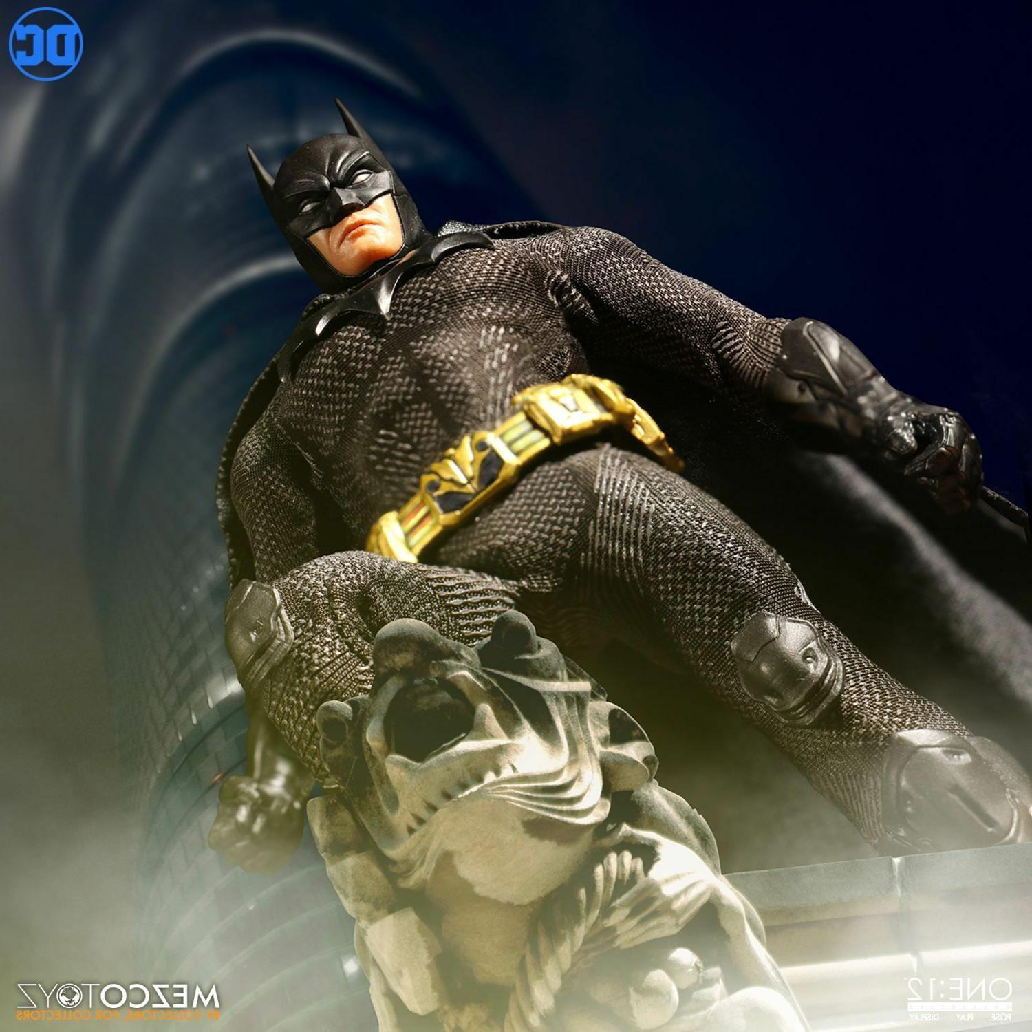 MEZCO Batman Sovereign IN and shipping NOW!!!!