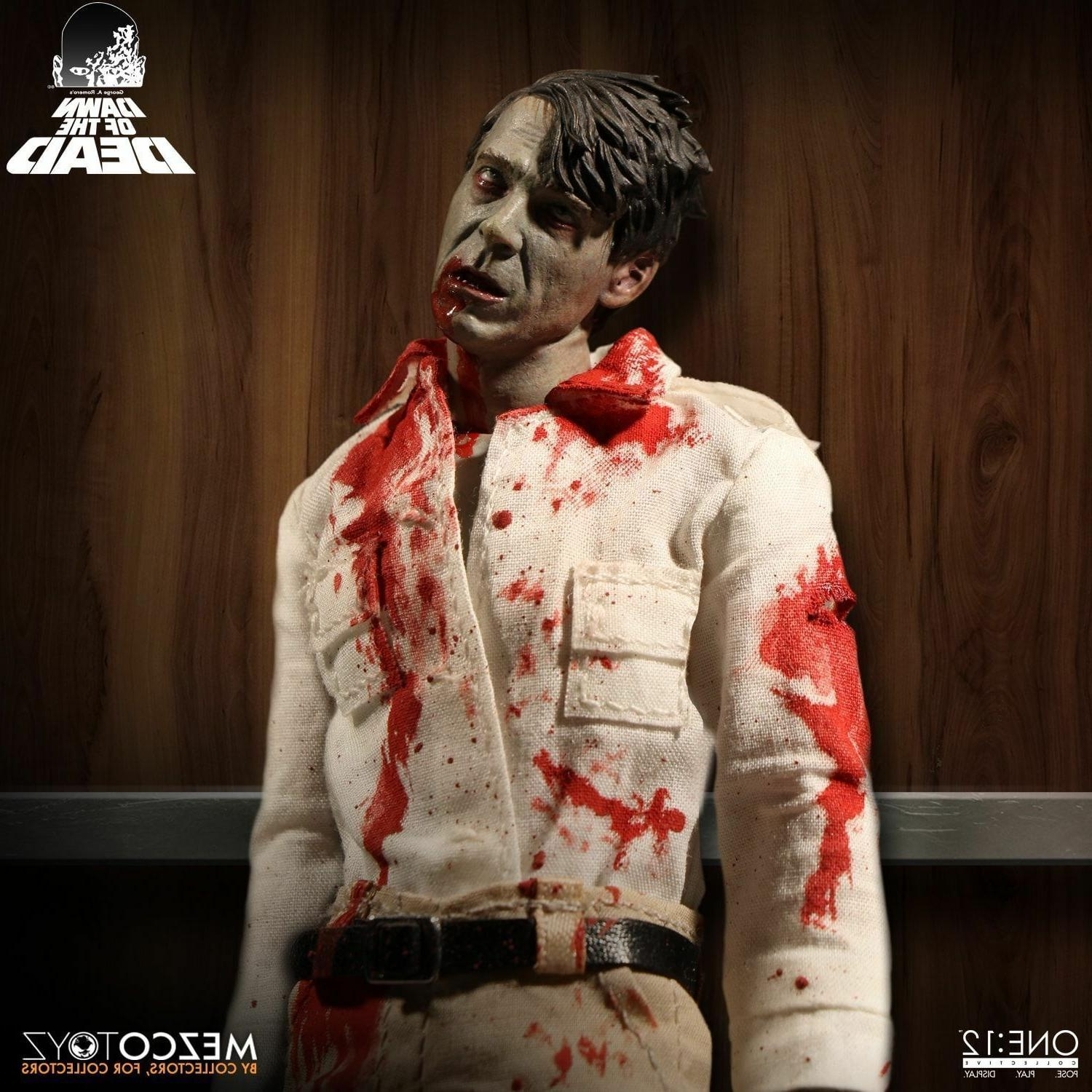 MEZCO ONE 12 COLLECTIVE Dawn of the Dead ZOMBIE Set IN STOCK FREE SHIPPING NEW