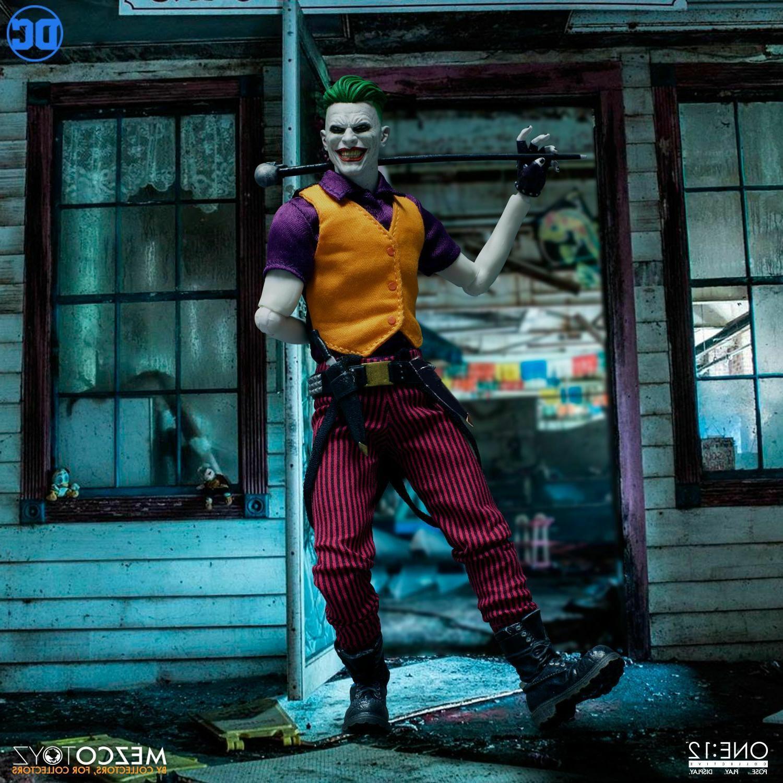 """Mezco One DC Joker of 6"""" Figure In Stock"""