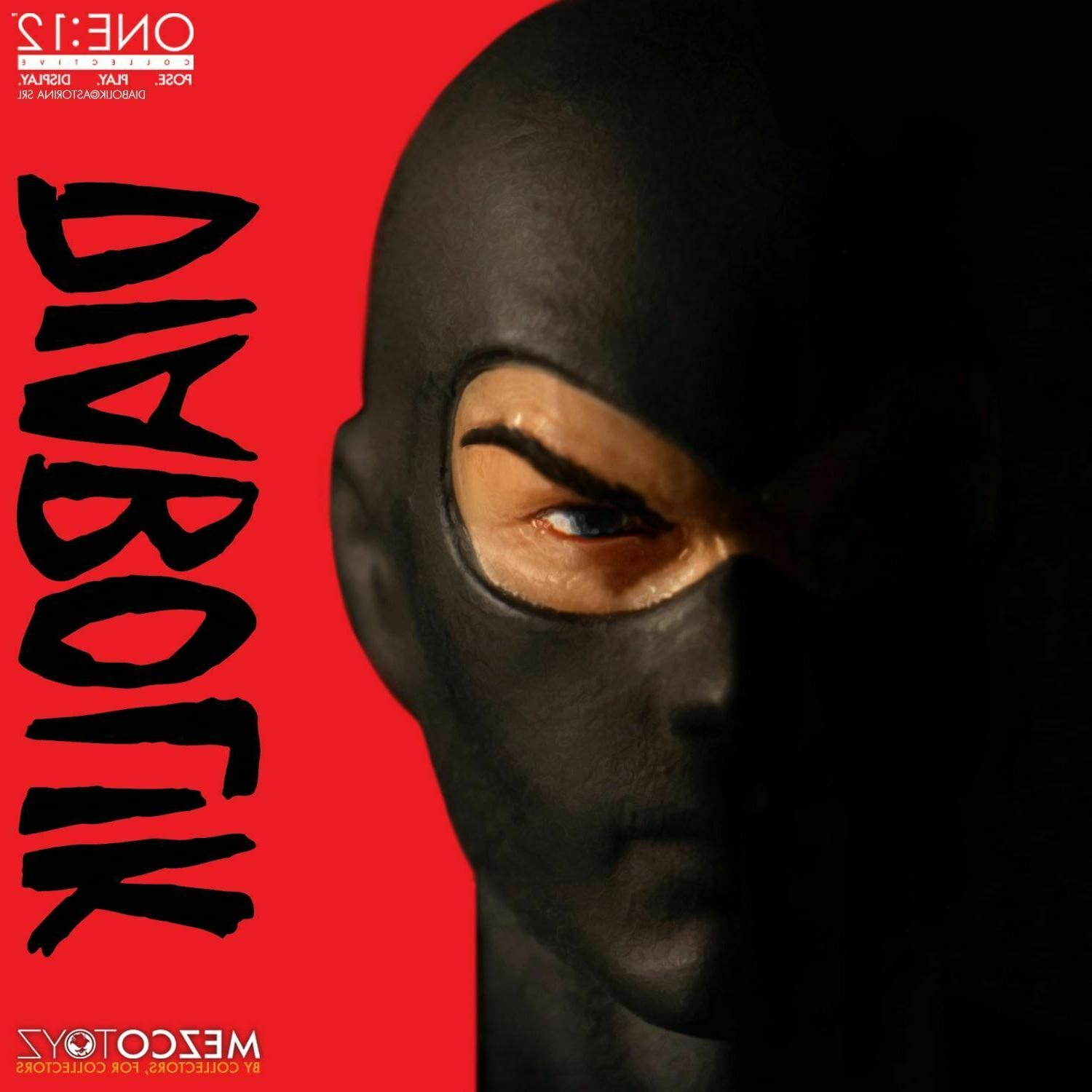 Mezco One:12 Collective Diabolik Action Figure IN
