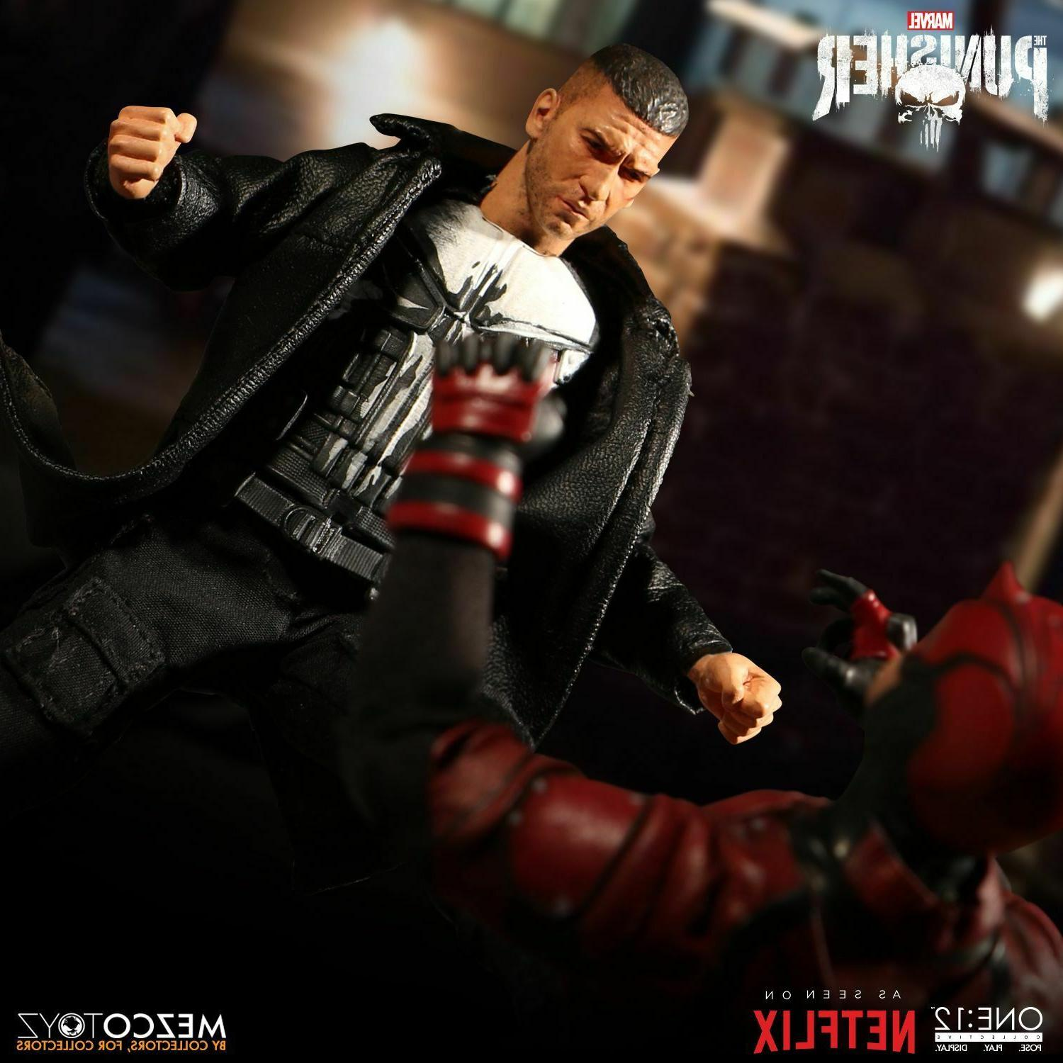Mezco 12 COLLECTIVE Netflix Punisher inch action figure