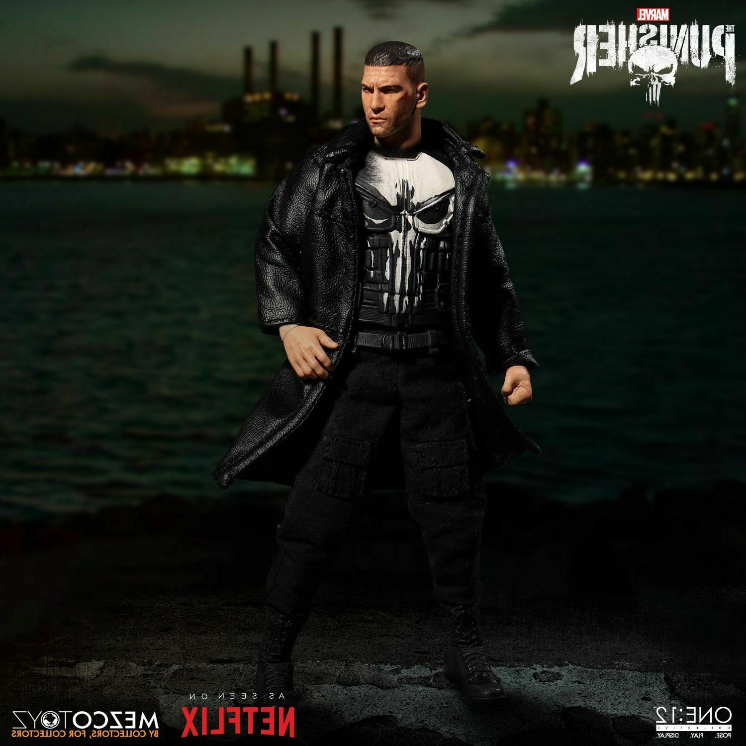 Mezco Toyz One:12 Collective Marvel Punisher Action Figure N