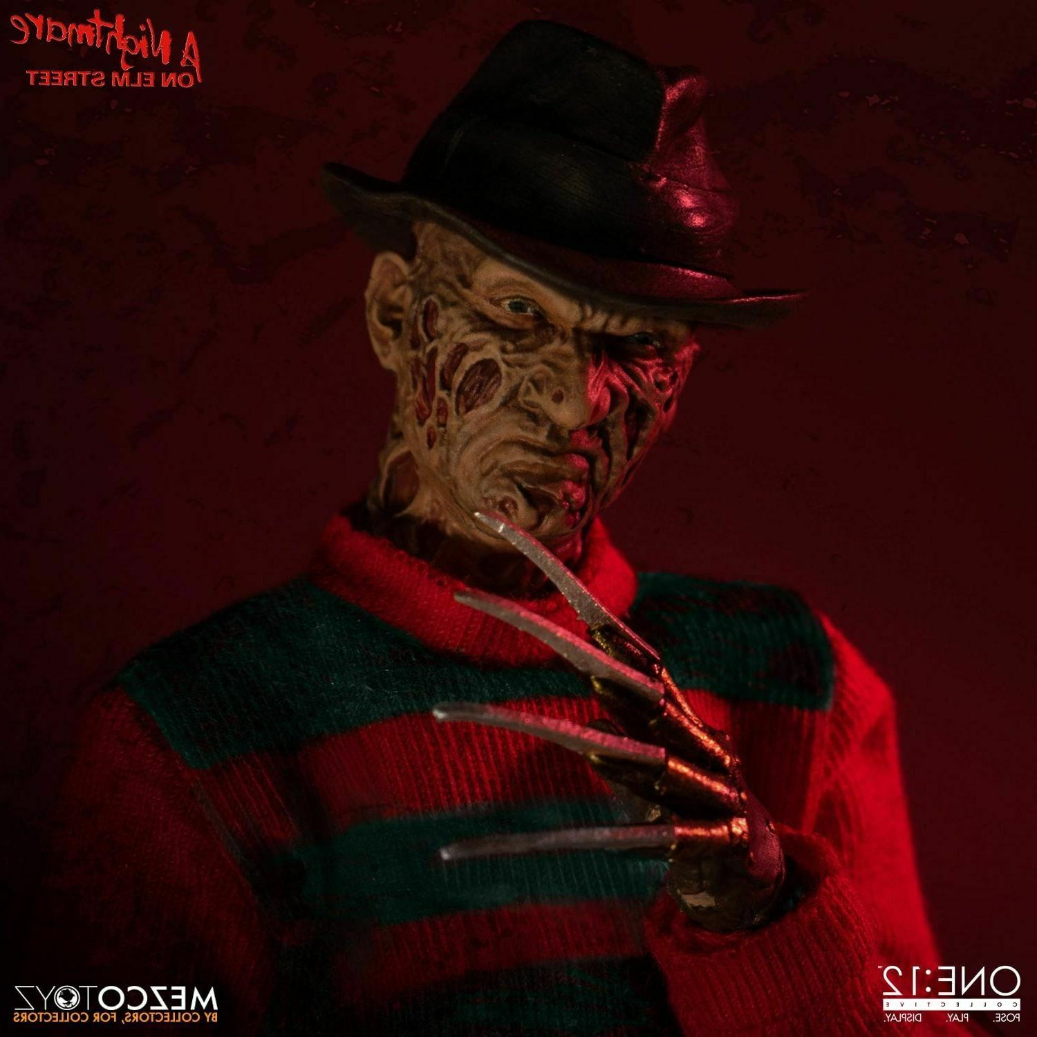 Mezco One:12 on Street Krueger NEW