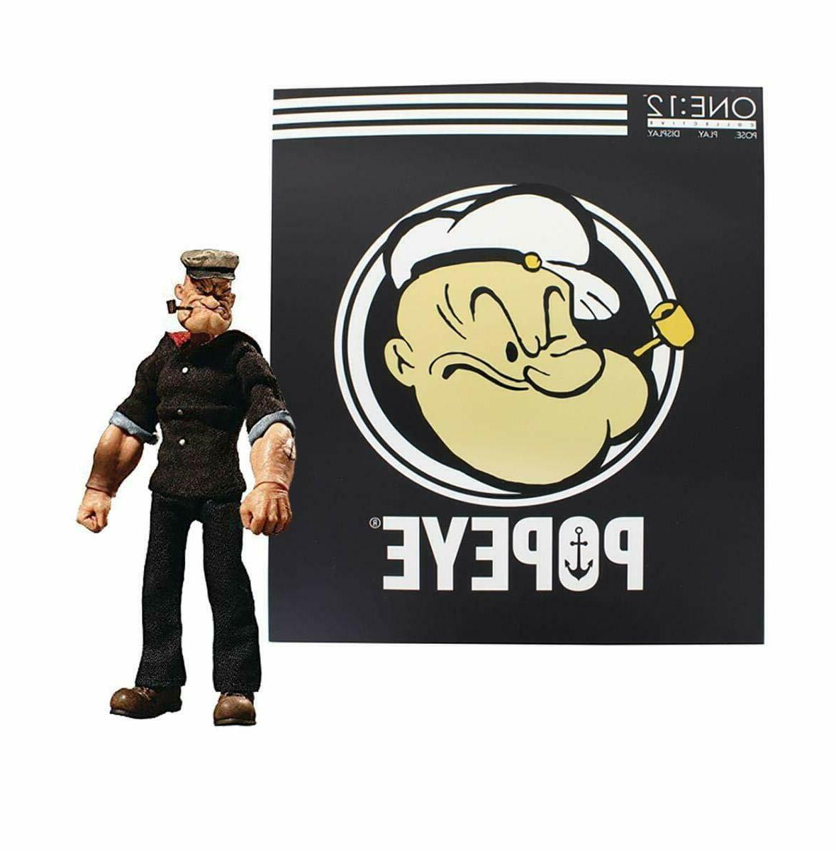 one 12 collective popeye deluxe action figure