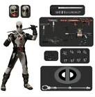 """Mezco One:12 Collective X-Force Deadpool Marvel 6"""" Action Fi"""
