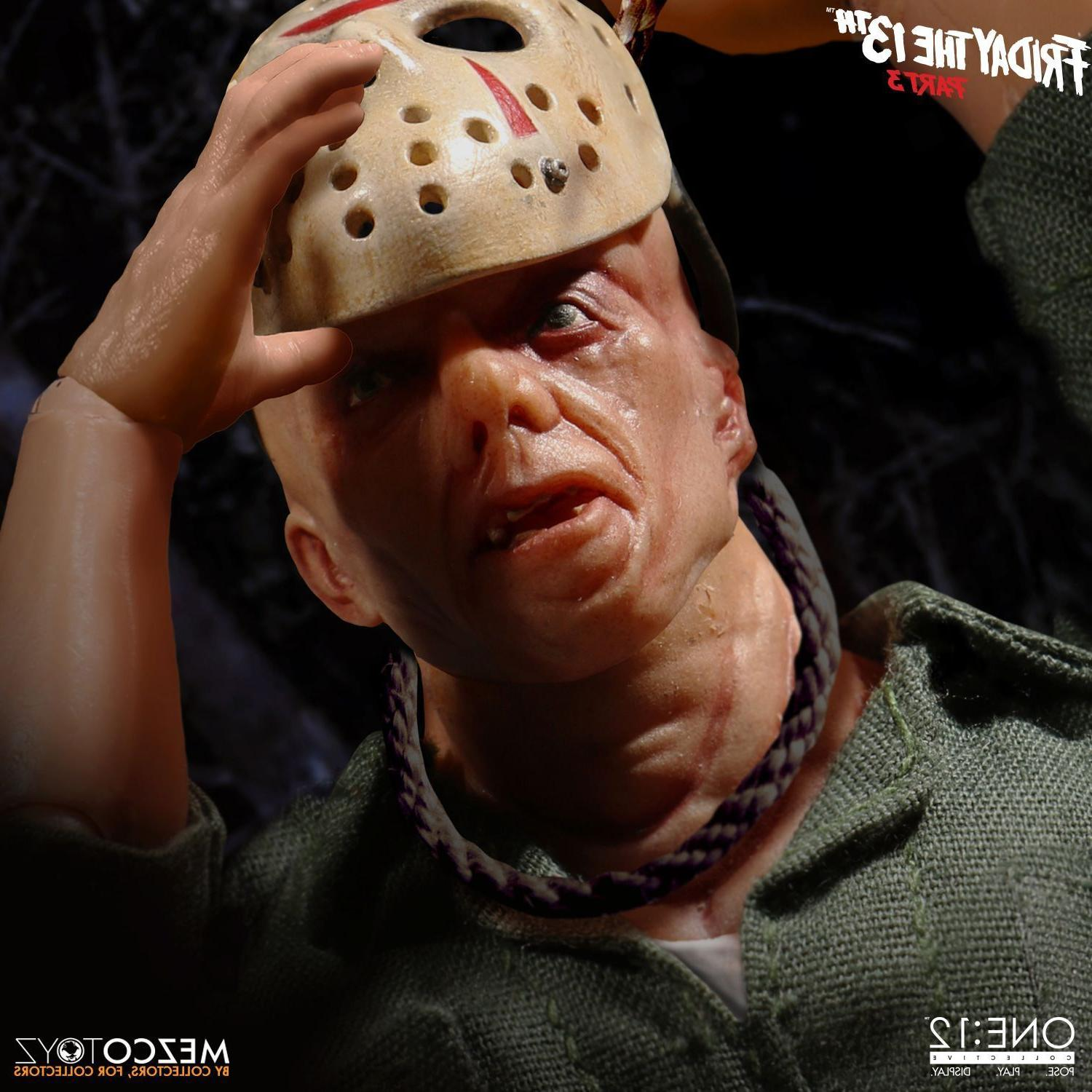 Mezco ONE:12 Jason Voorhees Friday The 13th Part 3 IN STOCK SAME DAY SHIPPING