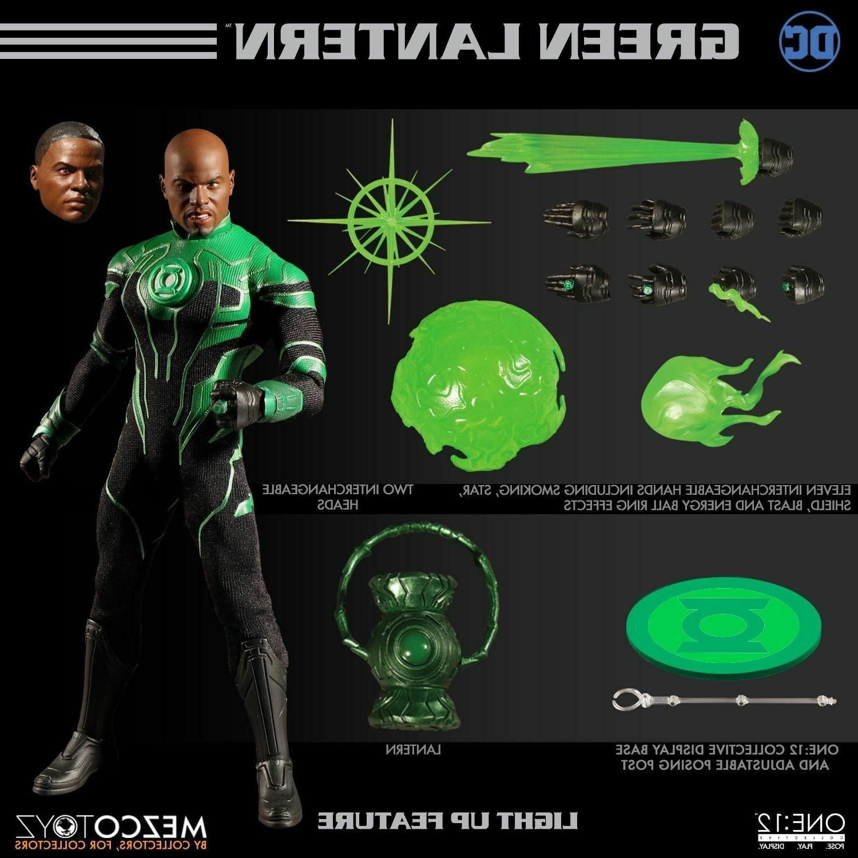 Mezco John Stewart Green Lantern inch action figure