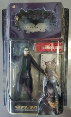 Mattel #P4720 The Dark Knight The Joker Action Figure w/Crim